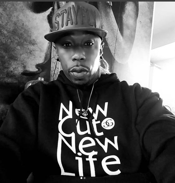 Friend & IG Follower @curtisjstayfly Rockin' New Cut New Life Hoodie for Bet Weekend