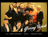 Giving Back... LGBT Center Beauty Day