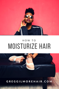 How do I moisturize my hair?
