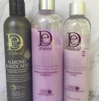 Design Essentials Agave & Lavender Blow Dry Collection Greg Gilmore Hair
