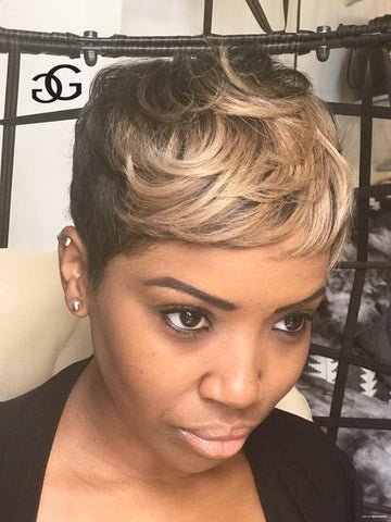 Color treated and relaxed hair - Greg Gilmore Hair