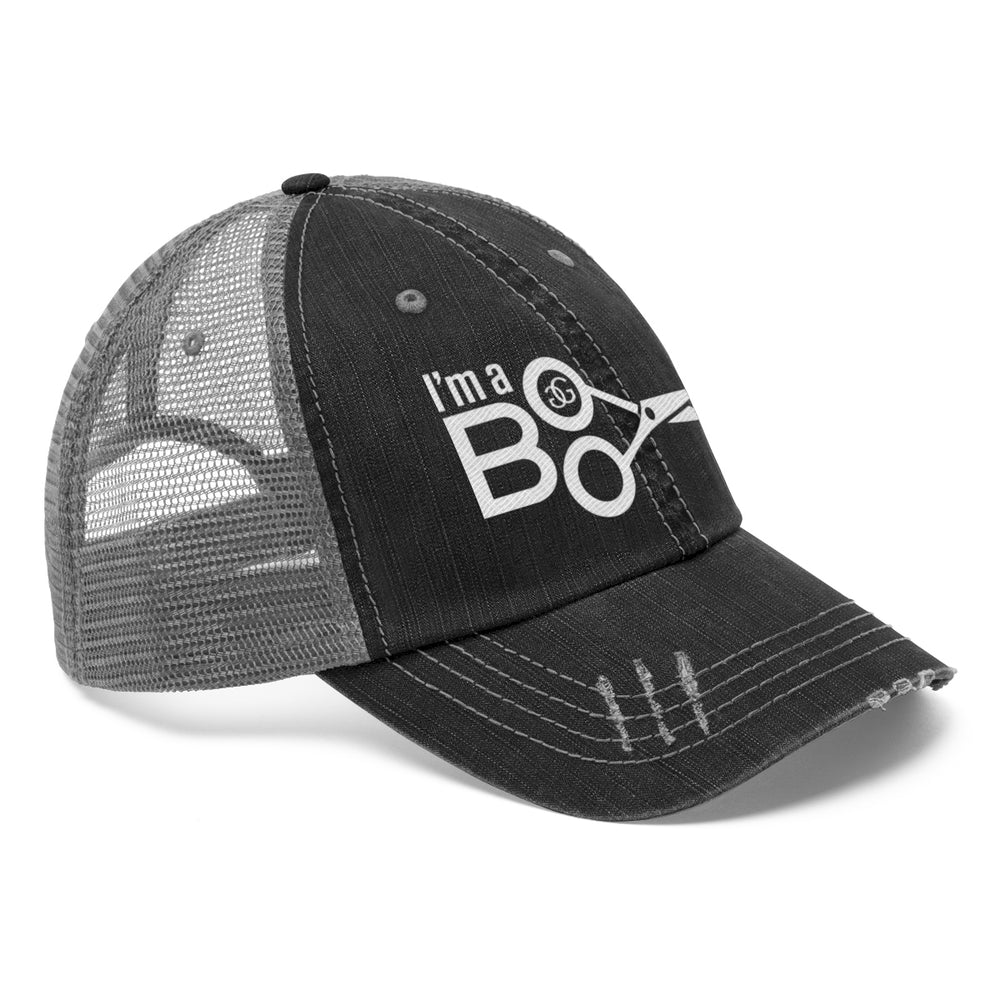 I'm a Boo Unisex Trucker Hat by Greg Gilmore