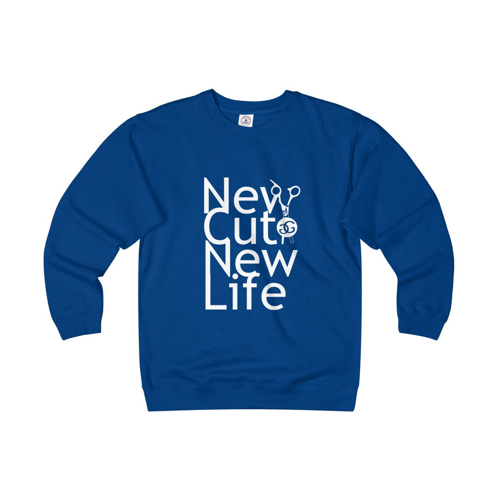 Unisex Heavyweight New Cut New Life Fleece Crew all Colors Greg Gilmore Hair