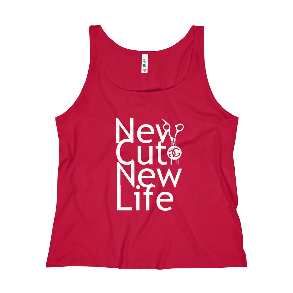 New Cut New Life Women's Relaxed Jersey Tank Top