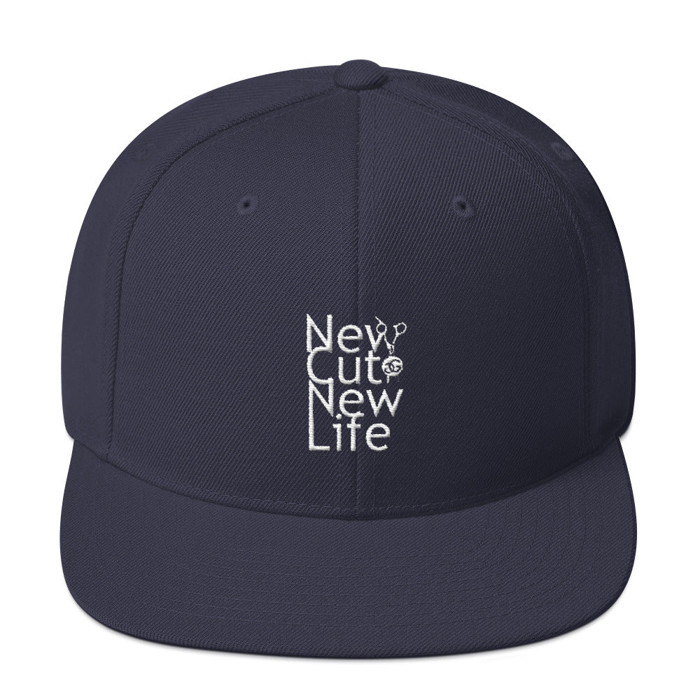 New Cut New Life (w/Shears) Snapback Hat All Colors