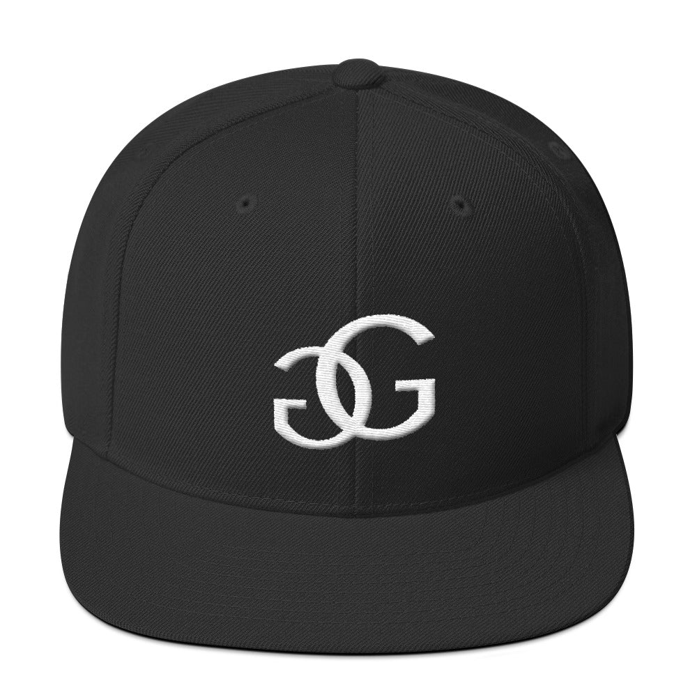 Black GG Snapback Greg Gilmore Hair