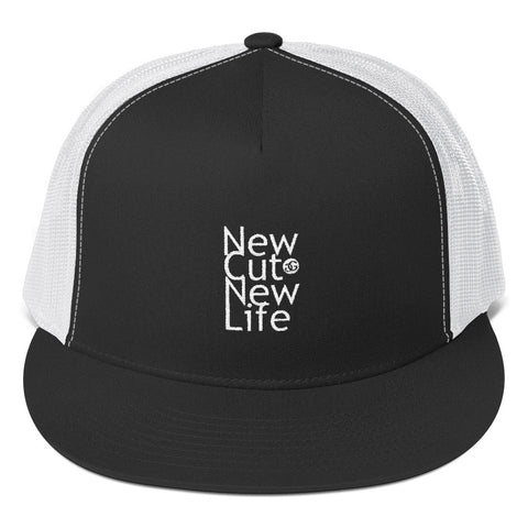New Cut New Life Trucker Snapback Cap