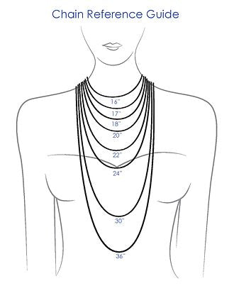 Chain Lengths A Little Guide Annika Burman Jewellery