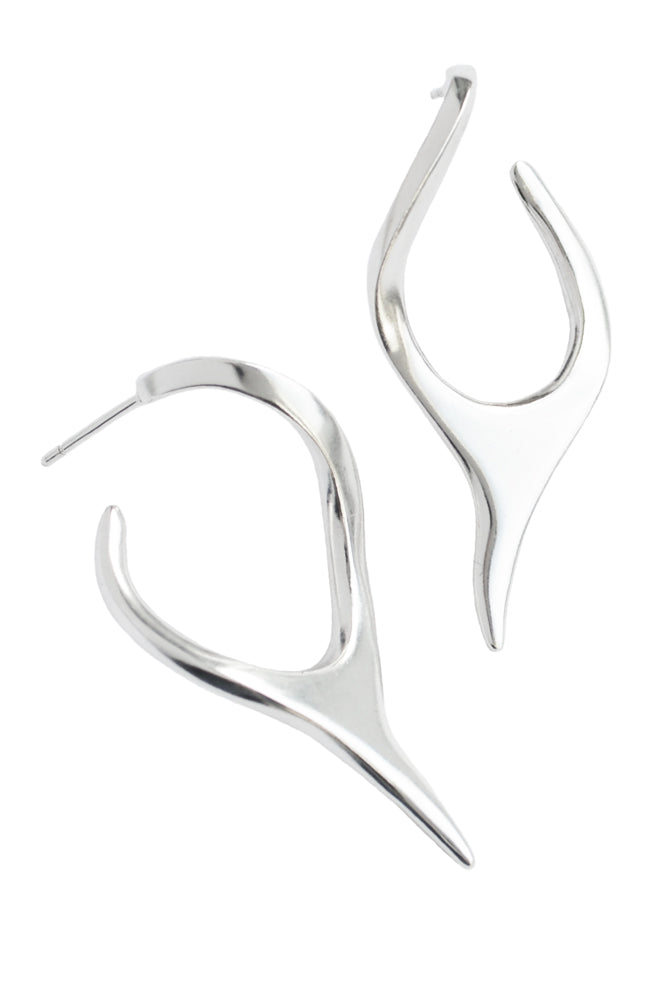 Blade Hoop Earrings