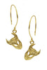 Demon Earrings In Gold Vermeil - Annika Burman Jewellery  - 2