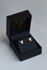 demon stud earrings in 18ct gold - annika burman jewellery - 4