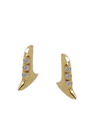 Diamond Blade Earrings