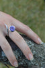 Dixie Cobra Ring With Amethyst - Annika Burman Jewellery  - 3