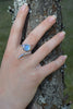 Dixie Cobra Ring With Moonstone - Annika Burman Jewellery  - 3