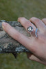 Dixie Cobra Ring With Smoky Quartz - Annika Burman Jewellery  - 3