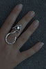 Arrow Ring With Topaz - Annika Burman Jewellery  - 3