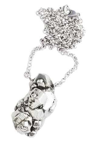 Galactica Silver Necklace