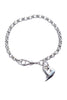Silver Heart Bracelet - Medium - Annika Burman Jewellery  - 2
