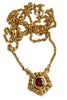 Helia Necklace With Garnet - Annika Burman Jewellery  - 3
