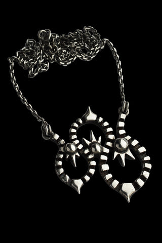 Kaleido Necklace In Silver
