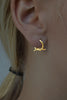 Knotted Earrings In 18ct Gold - Annika Burman Jewellery  - 2