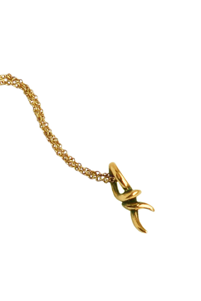 Knot Pendant In 18ct Gold