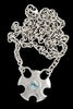 Large Metropolis Necklace With Topaz - Annika Burman Jewellery  - 1