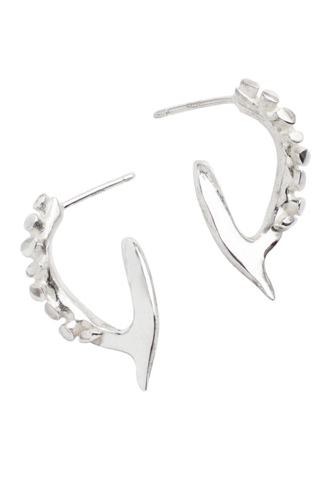 Studded Blade Earrings