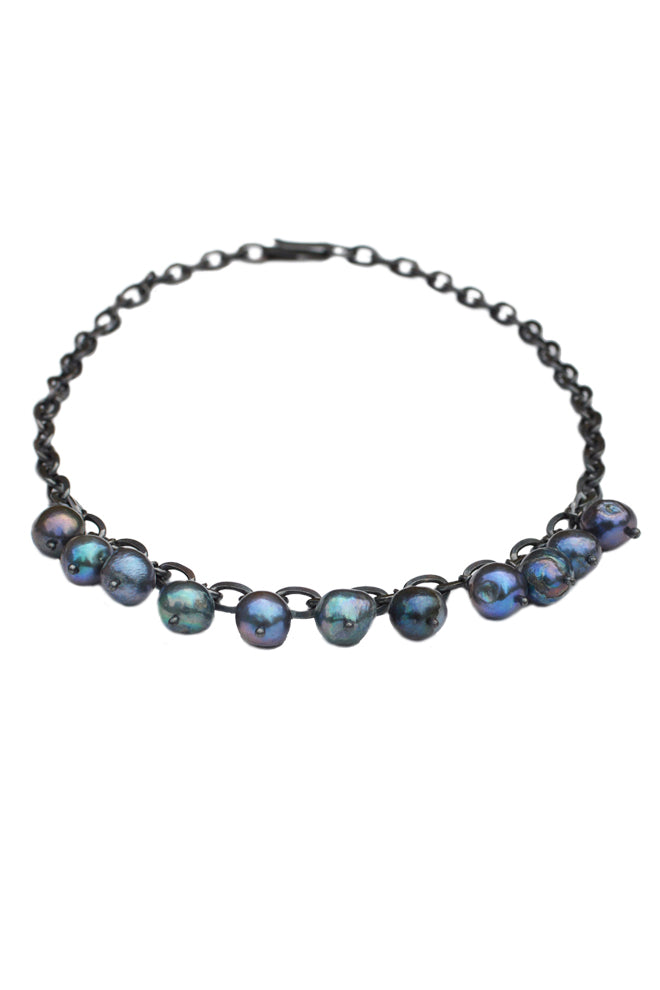 Thunderball Pearl Necklace