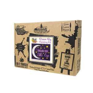 Dream Big Little One Painting Kit