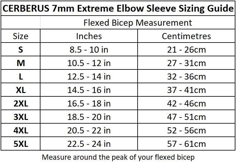 7mm EXTREME Elbow Sleeves