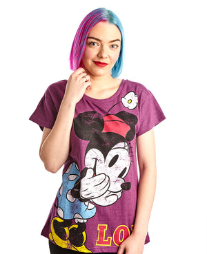 "Minnie Mouse ""LOL"" Tee"