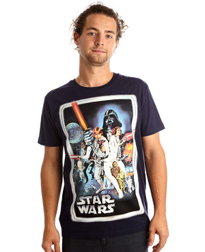 Star Wars 'A New Hope' Classic Poster Tee
