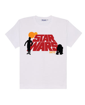 Women's Retro Star Wars Logo Tee