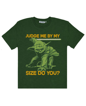 Star Wars Men's Judge Me By My Size Do You? Tee