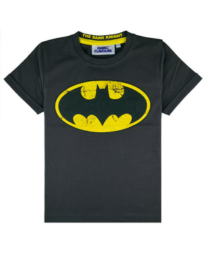 Batman Logo Vintage Wash Tee