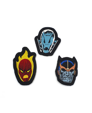 Mini Marvel Villains Badgeables