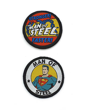Man of Steel Badgeables