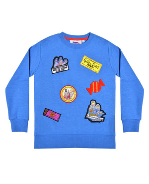 Charlie Badge Sweatshirt