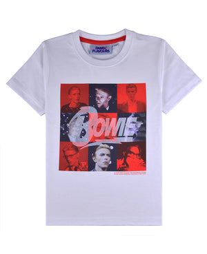 David Bowie White Tee