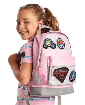 DC Pink Badgeables Backpack