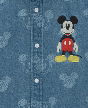 Mickey Mouse Denim Shirt