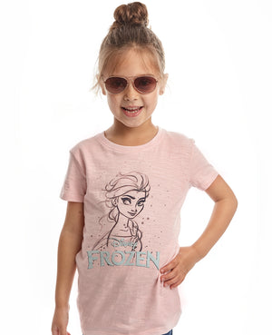 Frozen 2 Elsa and Logo Tee