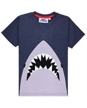 Jaws Applique Tee