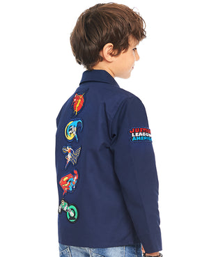 Justice League Badge Lightweight Jacket