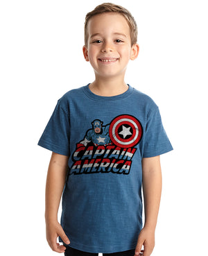 Kids Captain America Tee