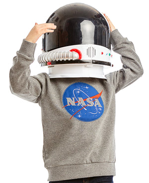 NASA Logo Grey Sweatshirt