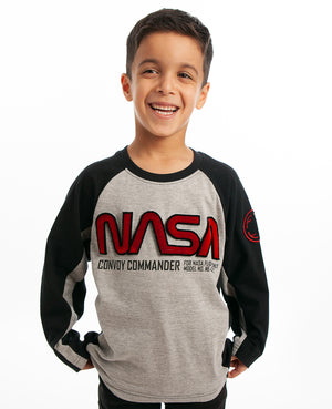 NASA Convoy Commander Long Sleeve Tee