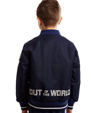 Out of This World Double Dino Bomber Jacket