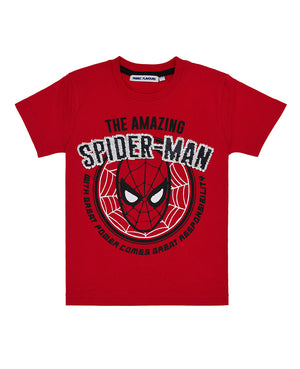Reversible Sequin Spider-man Tee